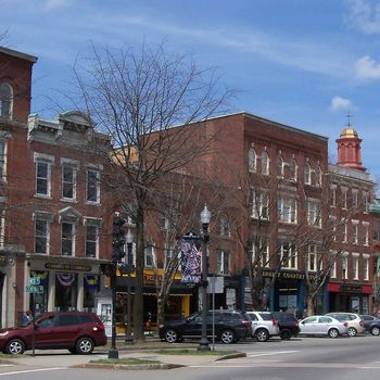 Downtown Keene, New Hampshire.